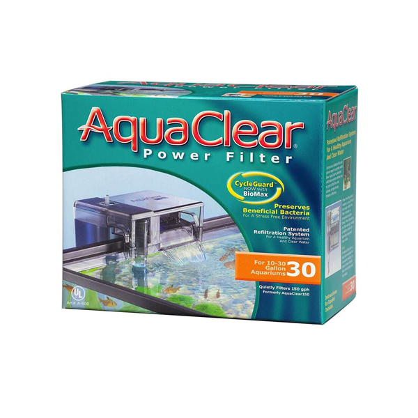 AquaClear 30 Hang-on Power Filter - Petsnpets