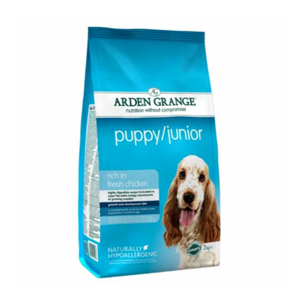 Arden Grange Chicken & Rice Puppy/Junior Dog Food
