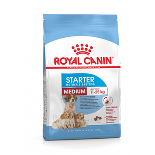 Royal Canin Medium Starter Mother And Puppy Food - Petsnpets