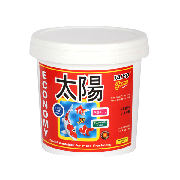 Taiyo Economy Fish Food available in 70g, 250g, 500g and 1.2kg - Petsnpets