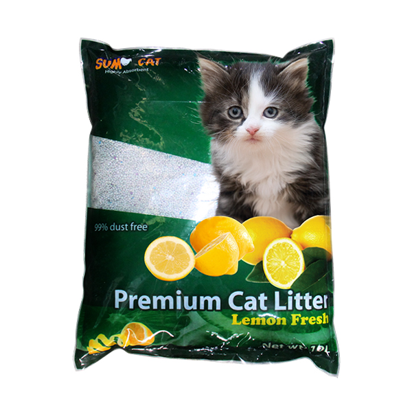 Sumo Premium Cat Litter Lemon Fresh - Petsnpets