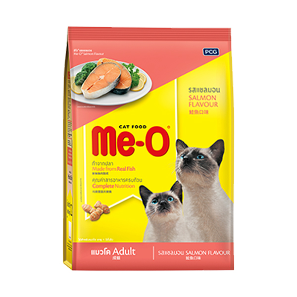 MeO Salmon Adult Cat Food - Petsnpets