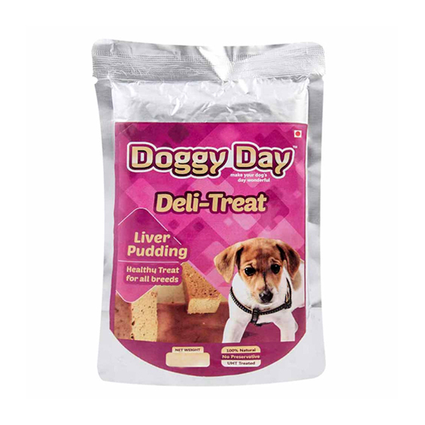Doggy Day Liver Pudding Adult Dog Treat - Petsnpets