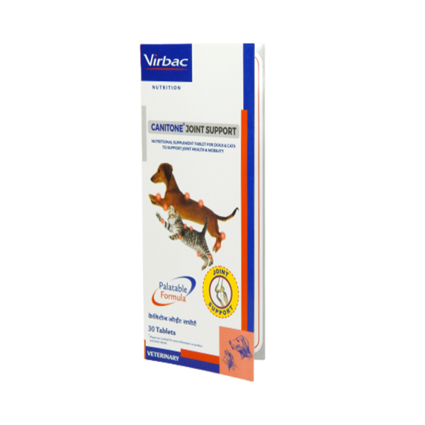 Virbac Canitone Joint Support for Dog and Cats - Petsnpets