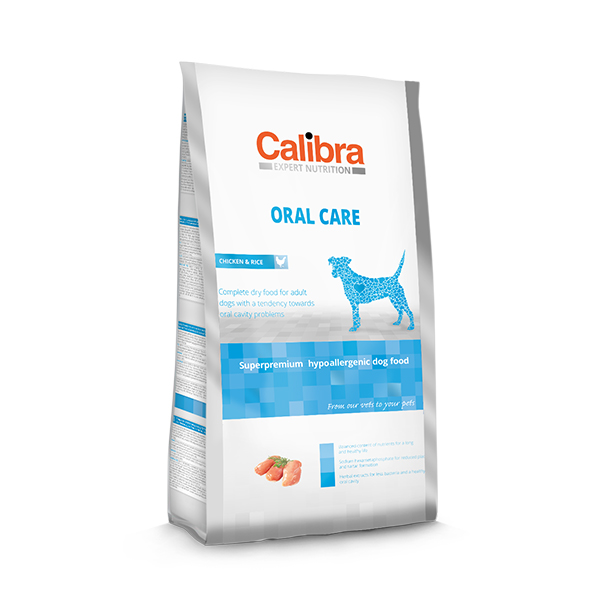 Calibra Expert Nutrition Oral Care Chicken and Rice Dry Dog Food - Petsnpets