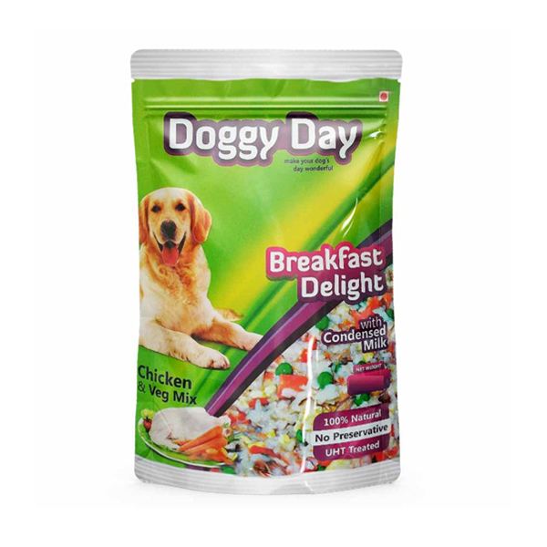 Doggy Day Breakfast Delight Adult Wet Food in Pouch - Petsnpets