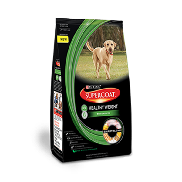 Purina Supercoat Healthy Weight Adult Dog Food - Petsnpets