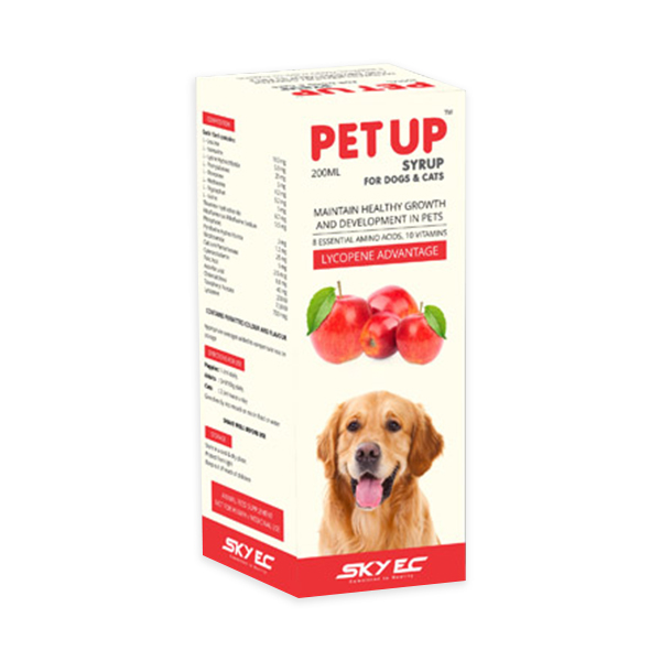 SkyEc Petup Syrup for Pets - Petsnpets