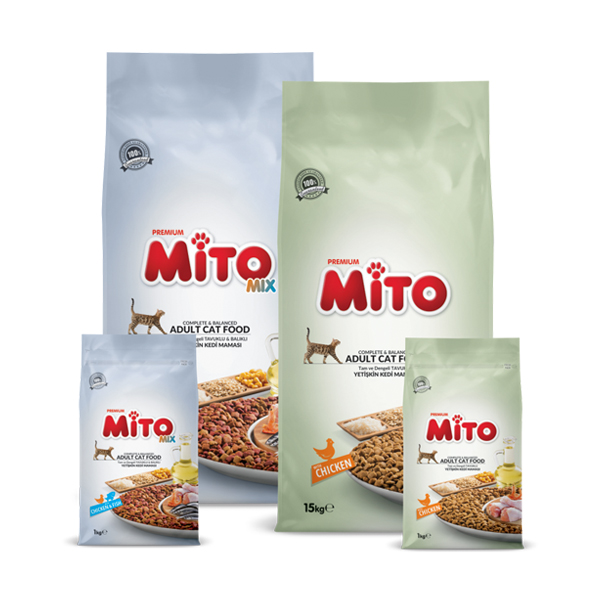 Mito Mix Chicken & Fish Adult Cat Food