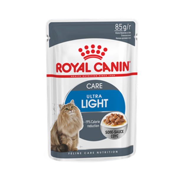 Royal Canin Ultra Light Care Cat Gravy in Pouch - Petsnpets