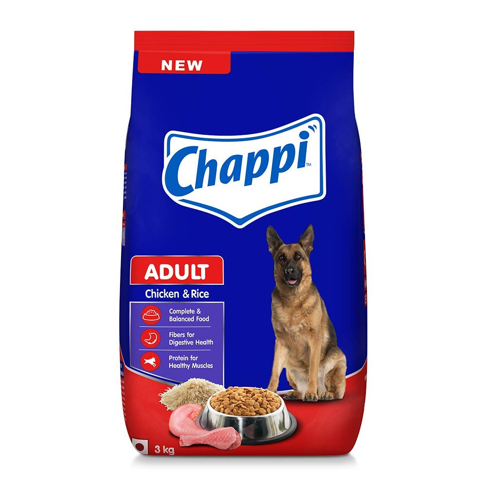 Chappi Chicken and Rice Adult Dog Food - Petsnpets