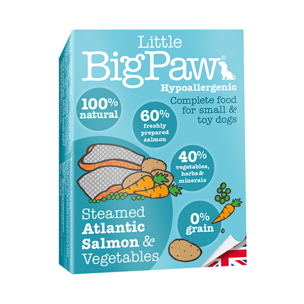Little BigPaw Salmon & Vegetable Wet Dog Food in Tray - Petsnpets