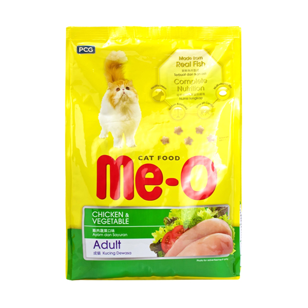 MeO Chicken and Vegetable Adult Cat Food - Petsnpets
