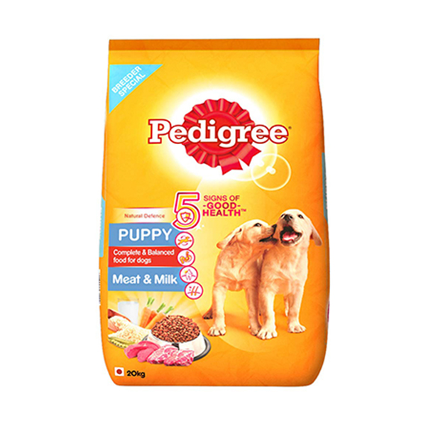 Pedigree Meat And Milk Puppy Food - Petsnpets