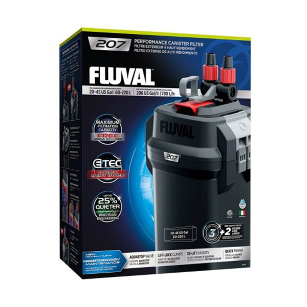 Fluval 207 Performance Canister Filter - Petsnpets