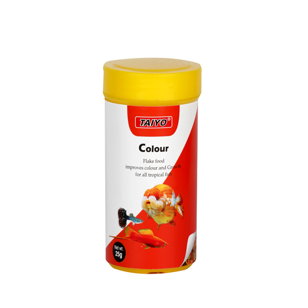 Taiyo Colour Flake Fish Food 25g - Petsnpets