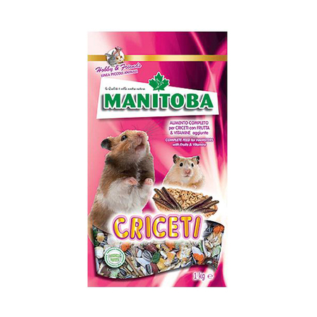 Manitoba Criceti Mixture Food for Rodents - Petsnpets