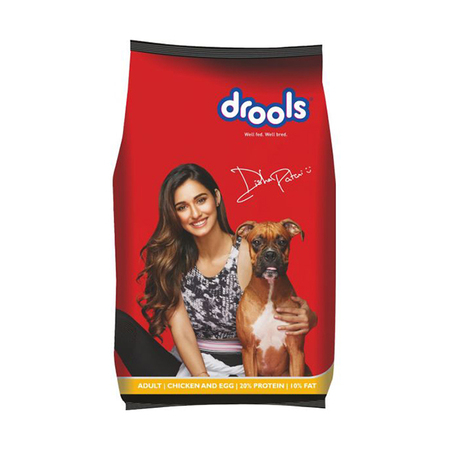 Drools Chicken and Egg Adult Dog Food - Petsnpets
