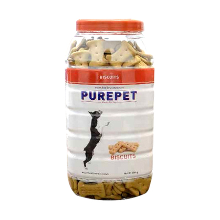 Purepet Dog Biscuits Chicken Flavour - Petsnpets