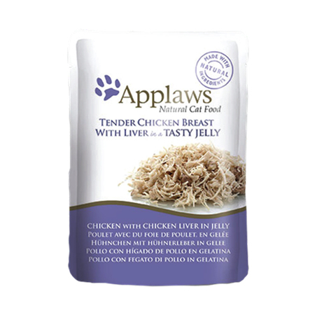 Applaws Chicken Breast With Liver Jelly For Adult Cat In Pouch- Petsnpets