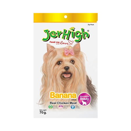 JerHigh Banana Dog Treats - Petsnpets