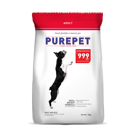 Purepet Meat and Rice Adult Dog food