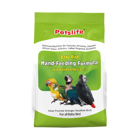 Petslife Hand Feeding Formula for Baby Bird - Petsnpets