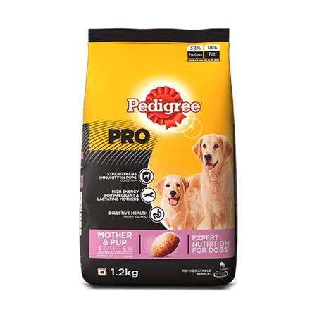 Pedigree Pro Mother And Puppy Starter Food  1.2Kg - Petsnpets