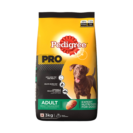 Pedigree Pro Adult Weight Management Dog Food - Petsnpets