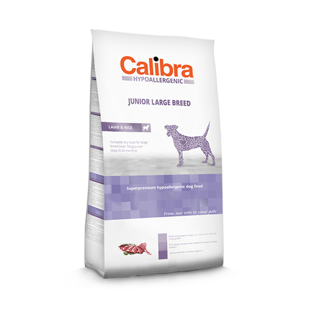 Calibra Hypoallergenic Low Grain Lamb And Rice Junior Large Breed Food - Petsnpets