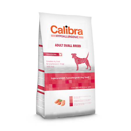 Calibra Hypoallergenic Low Grain Chicken And Rice Adult Small Breed Dog Food - Petsnpets