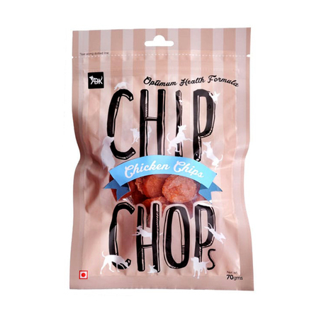Chip Chops Chicken Chips Dog Treat in Pouch - Petsnpets