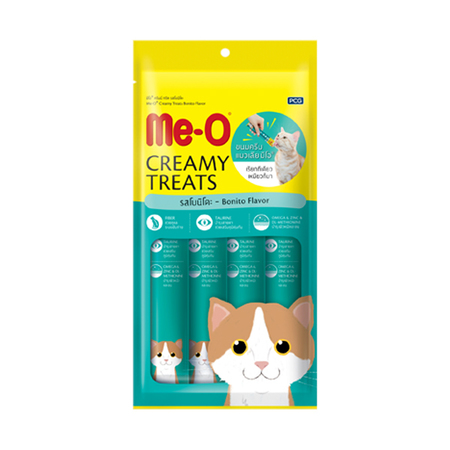 MeO Creamy Treats Bonito Flavor For Cat and Kitten - Petsnpets