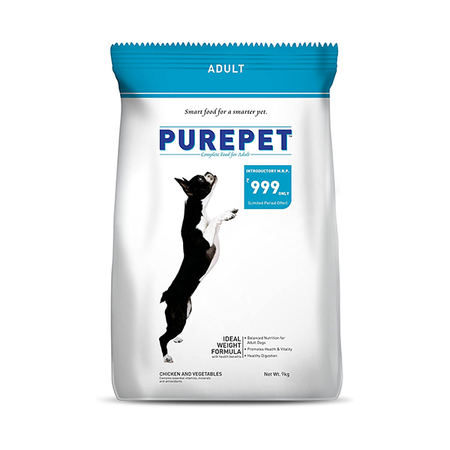 Purepet Chicken And Vegetable Adult Dog Food - Petsnpets