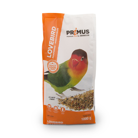 Benelux Primus Love Birds Premium Bird Food - Petsnpets