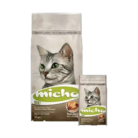 Micho Adult Cat Food with Chicken Flavor - Petsnpets