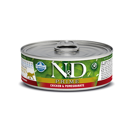 Farmina N&D Grain Free Chicken and Pomegranate Wet Cat Food - Petsnpets