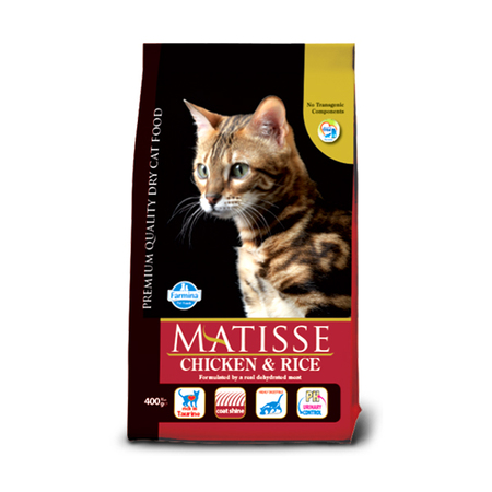 Farmina Matisse Chicken and Rice Adult Cat Food - Petsnpets