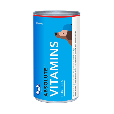 Drools Absolute Vitamins Syrup for Dogs - Petsnpets
