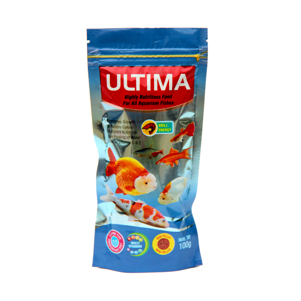 Ultima Nutritious Fish Food in Pouch 100g- Petsnpets
