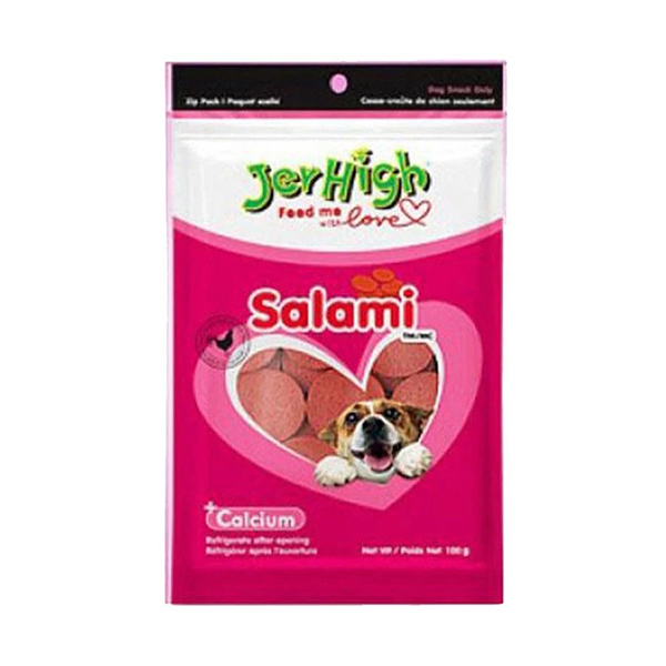 JerHigh Salami Dog Treats - Petsnpets