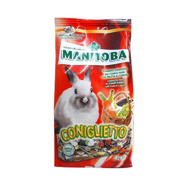 Manitoba Coniglietto Mixture Food for Rabbits - Petsnpets